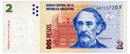 ARGENTINA 2 PESOS ND(2005) SERIES F Pick 352 Unc - Argentine