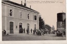 Gare De Villersexel Grandes Manoeuvres De L Est 1911 Arrivée Des Officiers Russes De La Suite Du Grand Duc Boris - France