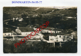 DOMMARTIN LA MONTAGNE-!?-Non Situee-CARTE PHOTO Allemande-Guerre 14-18-1 WK-France-54-55- - France