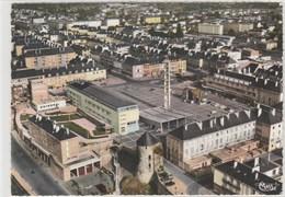 SAINT-LO   Vue Aérienne Du Centre  - 105x150 Dentelée , Glaçée - Saint Lo