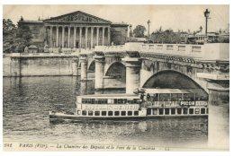 (516) Very Old Postcard - Carte Ancienne - France - Paris Chambre Des Deputées - Monuments