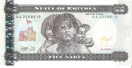Eritrea - Pick 2 - 5 Nakfa 1997 - Unc - Eritrea