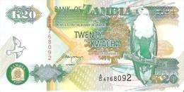 Zambia - Pick 36b - 20 Kwacha 1992 - Unc - Zambie