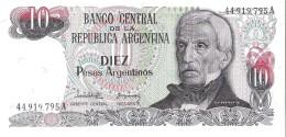Argentina - Pick 313 - 10 Pesos Argentinos 1983-1984 - Unc - Argentina
