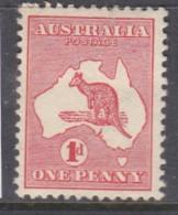 Australia, GVR, Kangaroo, 1915 1d Carmine, MH * - 1913-48 Kangaroos