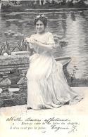 [DC3284] CPA - DONNA - Viaggiata - Old Postcard - Femmes