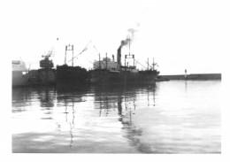 "Cpa Ancienne Bateau "" Schiaffino  "" Ex ""Flore ""   Construit En 1920 Willington Reproduction - Commercio"