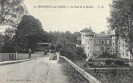 Montigny-sur-Loing (Seine-et-Marne) - Le Pont Sur La Rivière - Edition L. Coffin - Carte L.C. N° 74 Non Circulée - Francia
