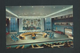 ETATS UNIS NEW-YORK UNITED NATIONS SECURITY COUNCIL CHAMBER - Non Classés