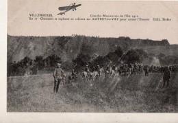 Villersexel Grandes Manoeuvres De L Est 1911 Le 11 Chasseurs Se Repliant En Colonne  Sur AUTREY EN VAY  Pour Cerner L En - Frankrijk
