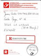Obliteration Du Point Poste Esso Tivoli (La Louvière) Du 23/1/2012 - CE POINT POSTE N´EXISTE PLUS ! - Marcophilie
