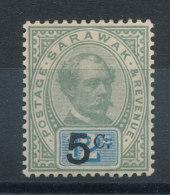 Sarawak  N°25* - Sarawak (...-1963)
