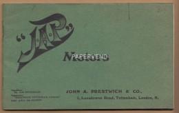 JAP Motors  Catalogue 1905  Eph14 - Folletos Turísticos