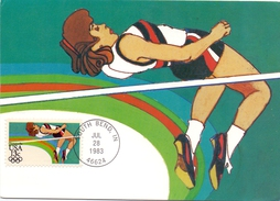 USA  SOUTH BEND 1983 MAXIMUN POST CARD  (SET160278) - Cartoline Maximum