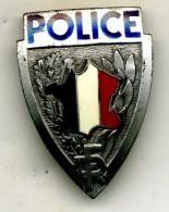 Insigne Casque Police___A.B - Police