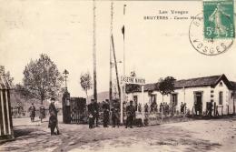 CPA GUERRE 14-18 - BRUYÈRES (VOSGES) - CASERNE MANGIN - Guerre 1914-18