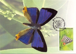 TAILAND BUTTERFLY (SET160284) - Tailandia