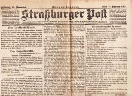 Straßburger Post - 1918 - Nummer 623 - Revues & Journaux
