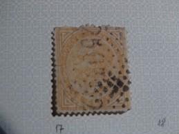 N°15-10c Jaune Brun(b) - Toscane