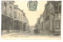 Carte Postale Ancienne Vibraye (72)  Rue Des Sablons - Vibraye