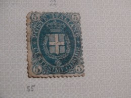 5c Vert (c) - 1861-78 Vittorio Emanuele II