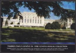 UN - United Nations Geneva 1990 Cancelled Souvenir Folder - Year Pack - Sin Clasificación