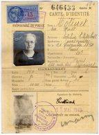 VP5539 - PARIS -  Police - Carte D'Identité De Mme COTINET Née MAST - Cartes