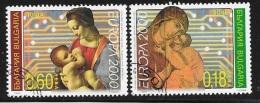 N° 3879 / 3880    EUROPA  BULGARIE  -  2000 - Gebraucht