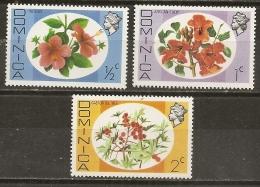 Dominique Dominica Fleurs Flowers MNH ** - Dominica (1978-...)