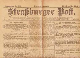 Straßburger Post - 1915 - Nummer 495 - Revues & Journaux