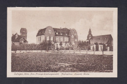 AK Solingen Prov. Fürsorge Erziehungsantalt  - Zöglingshaus Lazarett Kirche ( Wilh. Fuller ) - Solingen