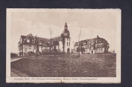 AK Solingen Prov. Fürsorge Erziehungsantalt  - Kirche U. Schule Verwaltungsgebäude ( Wilh. Fuller ) - Solingen