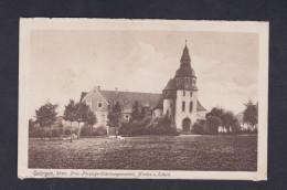 AK Solingen Prov. Fürsorge Erziehungsantalt  - Kirche U. Schule  ( Wilh. Fuller ) - Solingen