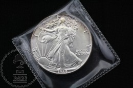 United States 1988 American Silver Eagle Dollar 1 Oz Fine Silver - 1979-1999: Anthony