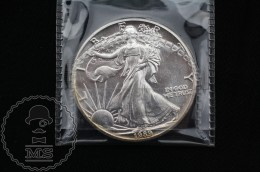 United States 1989 American Silver Eagle Dollar 1 Oz Fine Silver - 1979-1999: Anthony