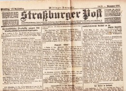 Straßburger Post - 1918 - Nummer 624 - Revues & Journaux