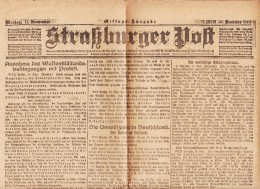 Straßburger Post - 1918 - Nummer 622 - Revues & Journaux