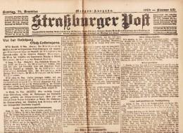 Straßburger Post - 1918 - Nummer 631 - Revues & Journaux