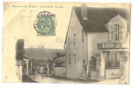Carte Postale   Ancienne  1905  Ailleville  (10) Une Rue - Andere Gemeenten