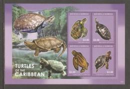 ANTIGUA & BARBUDA  MNH  2012  Turtles - Tortues