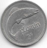 *irland Florin  1966  Km 15a  Xf - Irlande