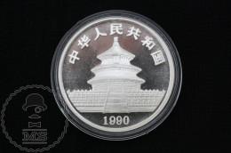 1990 China 1 Oz .999 Sliver Panda 10 Yuan - China