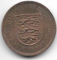 *jersey 1 Penny 1971  Km 30 - Jersey