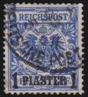 Deutsches  Reich  -   Turkei       .      Michel    8             .          O          .              Gebraucht - Deutsche Post In Der Türkei