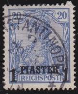 Deutsches  Reich  -   Turkei       .      Michel    14  I                 .          O          .              Gebraucht - Deutsche Post In Der Türkei