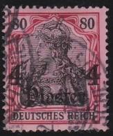 Deutsches  Reich  -   Turkei       .      Michel    43          .          O          .              Gebraucht - Deutsche Post In Der Türkei