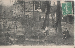 95 Bessancourt  Deversoir Du Trou  A Madeleine Source - France