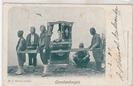 Constantinople 1900 Salut -woman - Turquie