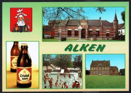 ALKEN - Gildezaal, Recreatiepark De Alk En Kasteel Rodenpoel - Non Circulé - Not Circulated - Nicht Gelaufen. - Alken
