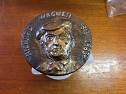 #Médaille Richard Wagner 1813-1883 - France